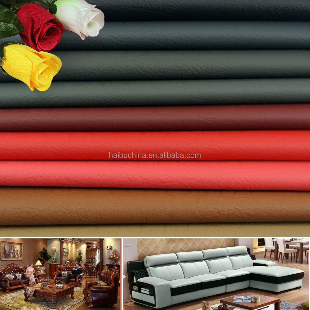 Sofa Furniture Cover Leather Material With Free Samples