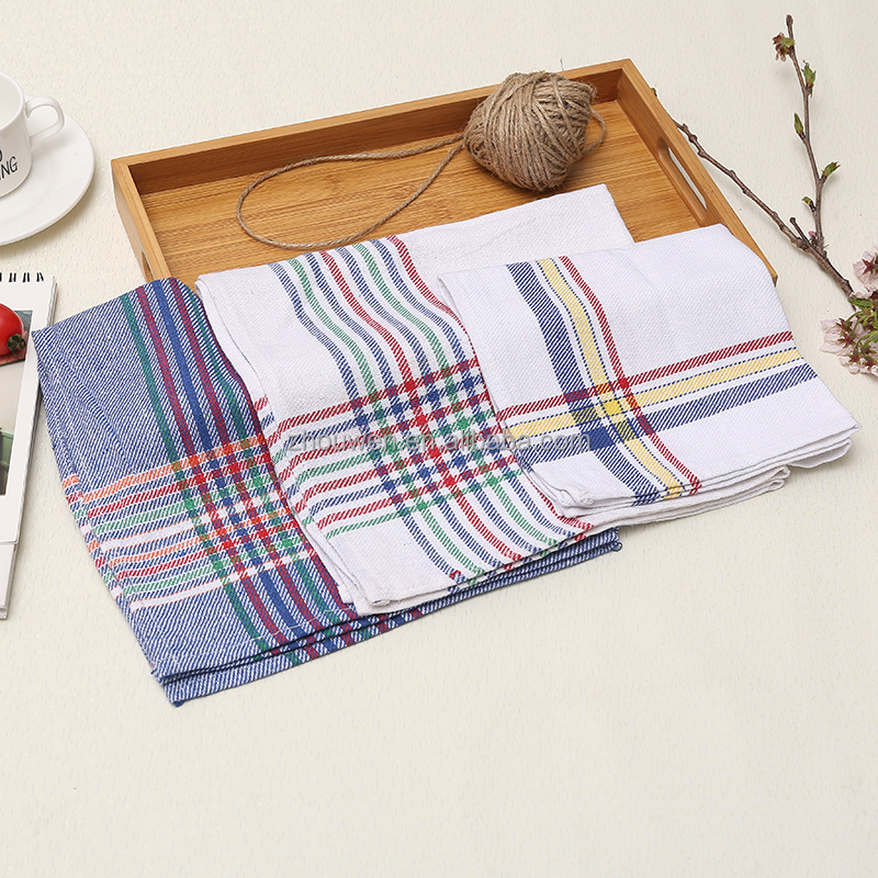 wholesale 100% cotton plain blank white egyptian cotton tea towels