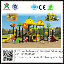 2018 new amusement park equipment children plastic outdoor playset QX-18007A