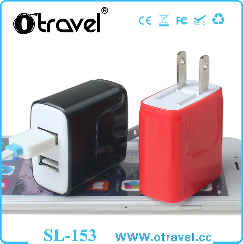 Universal travel adapter usb 2.4A for iPhone Wall Charger