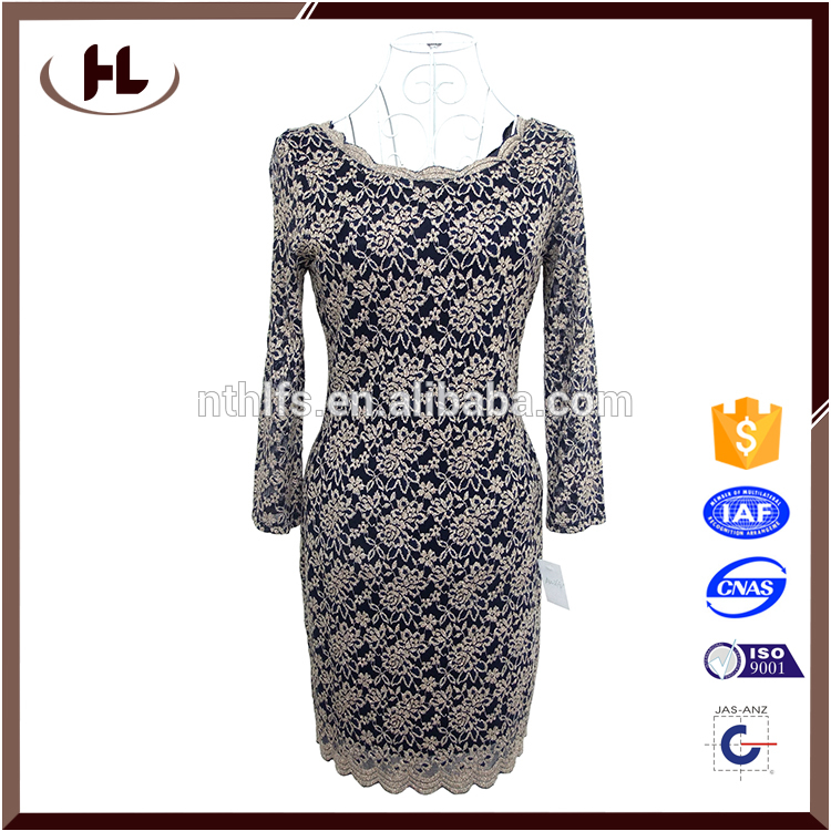modern lady dress cotton design for hotel