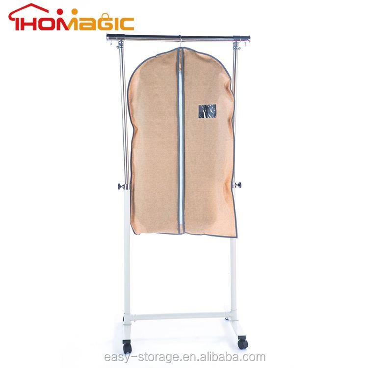 Wholesale Best Selling High Quality Garment Bag Luxury Nonwoven Fabric Men's Suit Cover