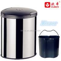Hot sell metal trash cans waste bin dust bin/GYT14-3B-YS