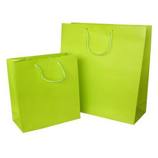 Free sample handle paper color gift bag
