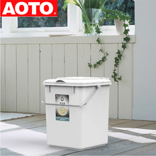 cheap price good quality small plastic recycle trash/waste bin with lid for kitchen/toilet /indoor in China