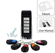 High-tech Remote key finder to find 5 receivers