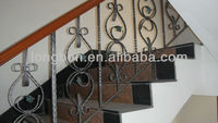 Top-selling hand-forged iron handrails for porch steps