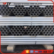 Chinese supplier high quality 89mm galvanized steel round tube