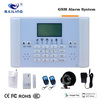 Cheap manual wireless intelligent burglar digital GSM home security alarm system