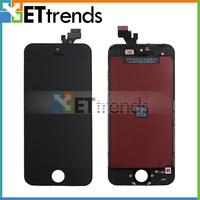 Mobile phone spare parts replacement lcd screen for iphone 5 5s 5c and touch screen