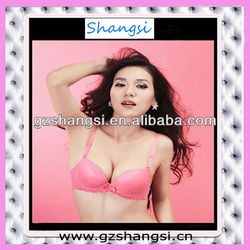 Comfortable touch sexy lady bra and panty set from China factory