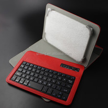 Wireless 7 Inch Tablet Keyboard Cover with PU leather + ABS keys
