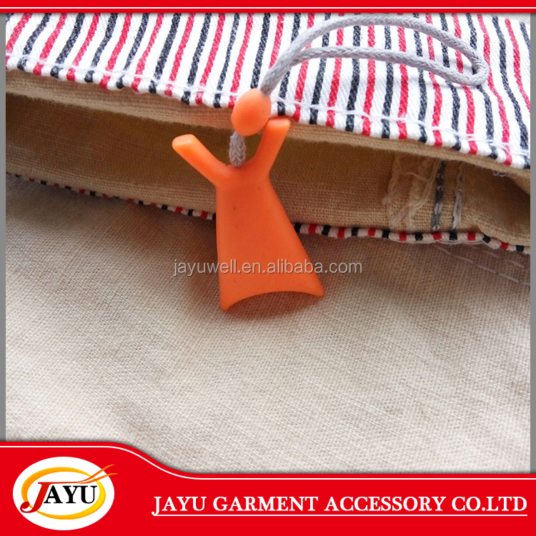 reycled plastic special seal garment hanging hang tag
