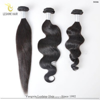 Trade Assurance Order Intact Cuticles 100% Raw Unprocessed cheap remy indian human hair weave