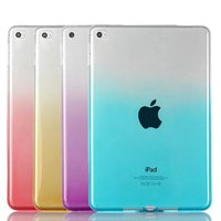 New Gradient Color TPU Soft Back Case Protective Case For iPad Mini 4