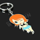 20 years experience produce sexy girl key chain logo