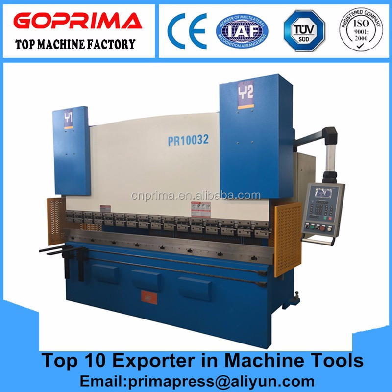 WC67 hydraulic press brake/CNC press bending machine/plate bending machine,Chining machine, metal sheet bender with CE&ISO