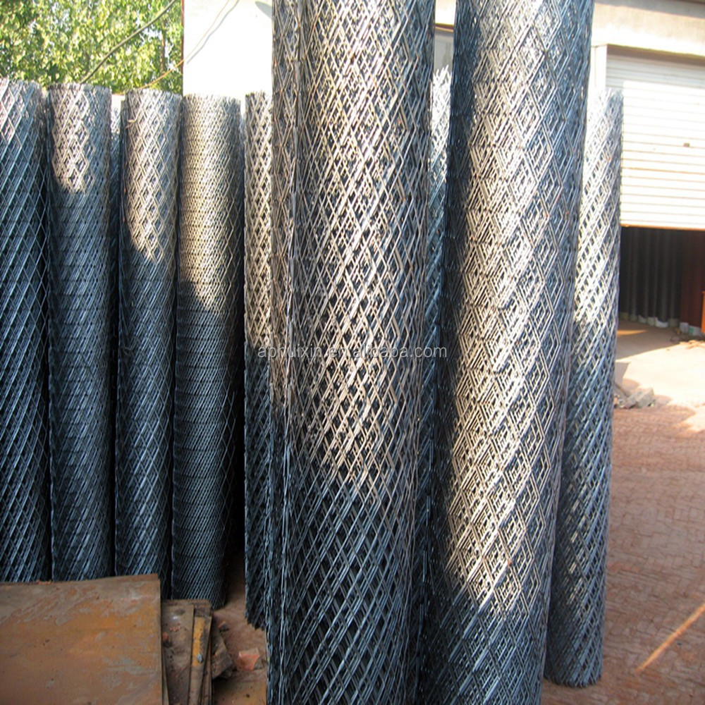 punched 1.2mm sheet thickness with 1.1mm stem/ 2mX4m mesh sheet expanded wire mesh