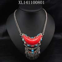 Red tibetan necklace