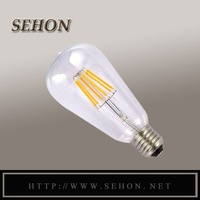 Alibaba Express 6W Vintage LED Filament Light Bulb, ST64 Edison Style, To Replace 60w Incandescent Bulb