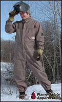 winter safety working PVC coverall clothes
