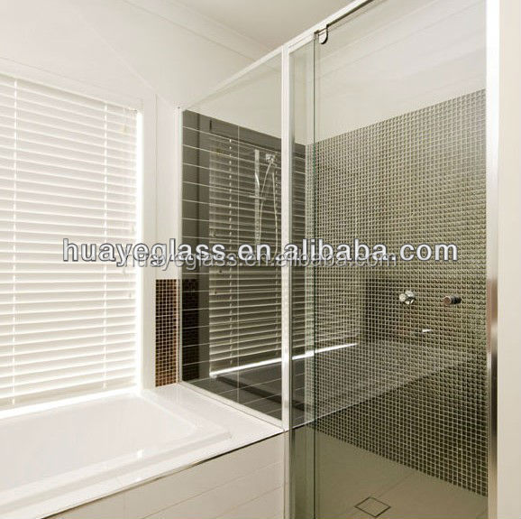 4mm-19mm 추가 투명한 강화 유리 가격 욕실 강화 유리 도어와 샤워 ...