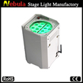 RGB tri-color led pressure transmitter wireless powered dmx lights