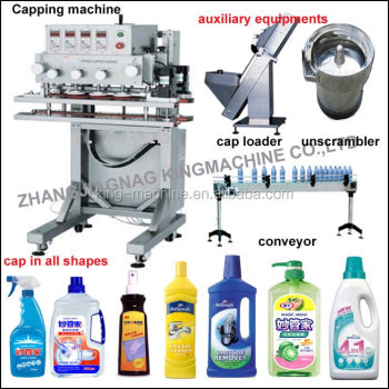 pneumatic driven type bottle capper