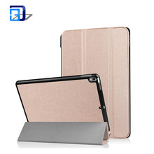 2017 New Product Shockproof Tablet Protective Case Voltage Three Fold Leather Case For IPad Pro10.5
