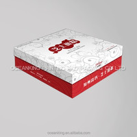 custom paper cardboard box with design
