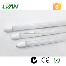 4ft 20W 2000lm super brightness factory price T8 glass led tube
