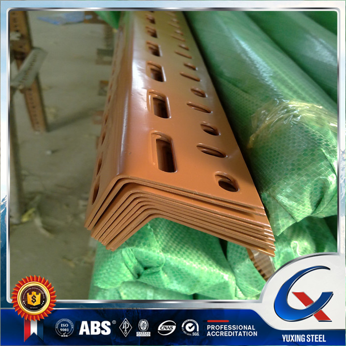 steel slotted angle/perforated angle iron/steel angle iron with holes