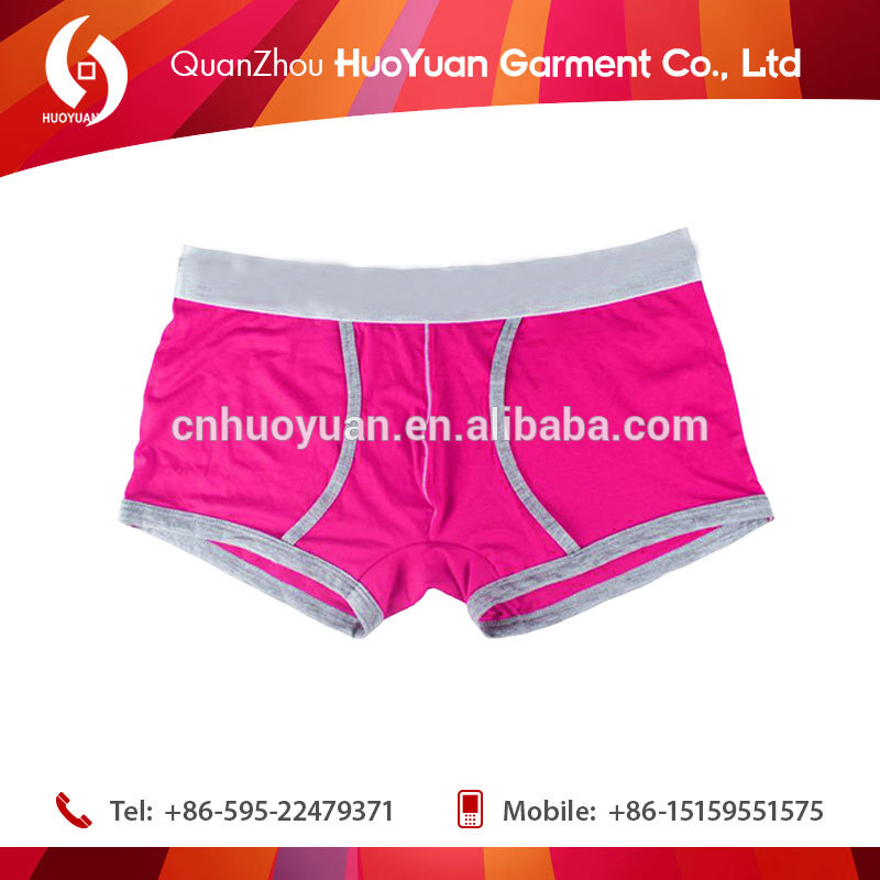 2017 huoyuan hot fashion picture of male penis /mesh men' boxer short underwear wholesale/sexy men's penis underwear