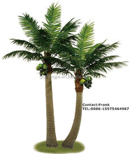 M-89 indoor and outdoor decoration Artificial coconut tree/fake coco tree/high imitation coco tree in Guangzhou