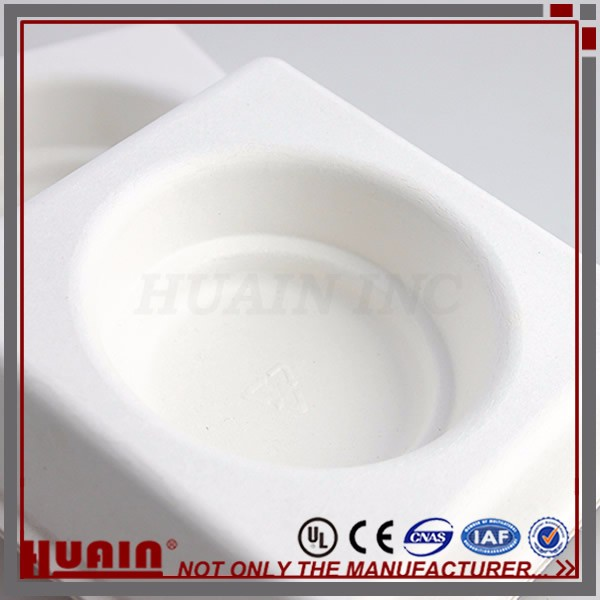 Molded Bagasse Pulp Packaging Tray