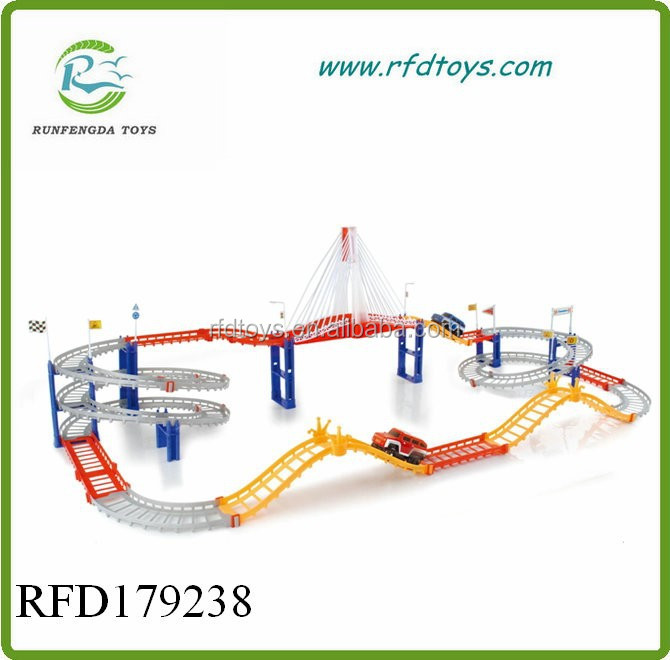 Hot sale toy track racing car toy track racer for kids slot car track