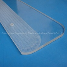 UV protection plastic injection parts Polycarbonate advertising box transparent PC parts