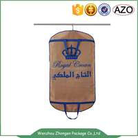 LOGO storage usage custom garment bag,foldable suit bag, travel men suit garment bags