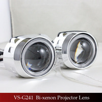 Classical Angel Eyes Ring Bi Xenon Projectors Moto Headlight