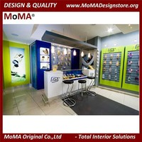 2015 NEW Retail Shop Designs For Mobile Phone Display