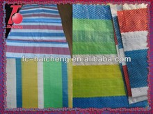 Striped colors sunshade tarpaulin,waterproof tarpauiln