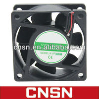 60x60x25mm 6025 60mm dc axial auto cooling fan 50HZ 60HZ 12v 24v