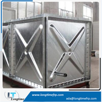 Hot dipped galvanized water tanks steel farm water tank