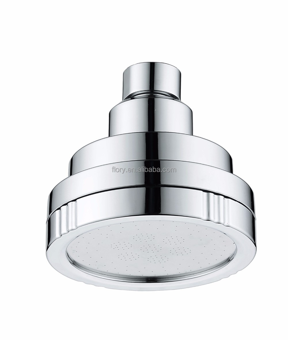 water saving high pressure ABS chromed top shower head
