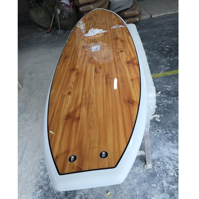 best quality wooden surfing sup board