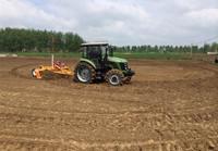 Laser Land Leveler for high precision agriculture