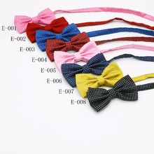 Wholesale hardware adult bow ties dot design double ties suspender accessories for mens