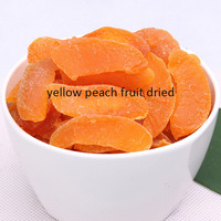healthy snack fruits freeze dried yellow peach dried