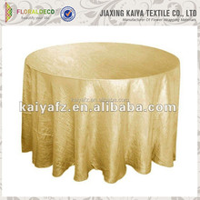 Bright Color Supreme Crinkle Taffeta Tablecloths