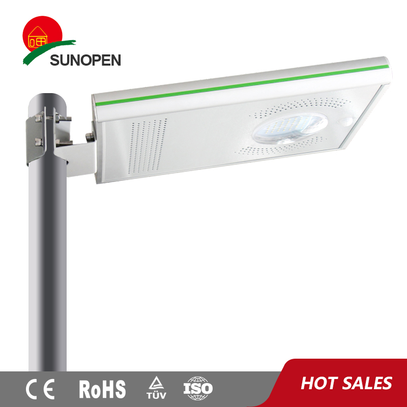 Mono panel advanced equipped solar led street lighting